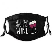 Mondkapje Wijn Stoffen