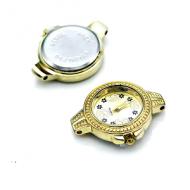Horloge Kast 35x28mm Goud