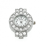 Horloge Kast 33x24mm Strass