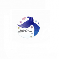 Label Mermaid Zeemeermin
