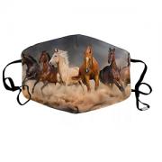 Stoffen Mondkapje Paarden