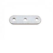 Verdeler 27x4mm Zilver 3 gaten