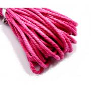 Waxkoord Katoen 2mm Roze