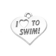 Bedel I love to Swim - Zwemmen