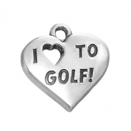 Bedel I love to Golf 18x18mm
