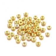 Kralen Goud 4x1.9mm 50x