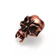 Kraal Koper Skull 24x18mm