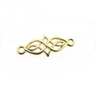 Tussenstuk Celtic Knot Goud