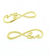 Tussenstuk Love Infinity Goud