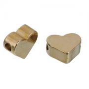Bedel Brass Hart 7x6mm