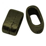 Schuiver Brons 13x7mm