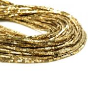 Kralen Hematiet Gold 2mm