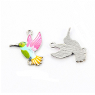Tussenstuk Kolibrie Emaille