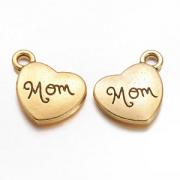 Bedel Hart Goud Mom/Moeder