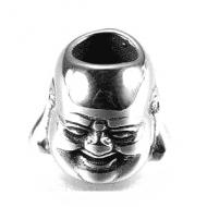 Kraal Rvs Boeddha 9x11mm