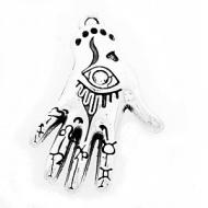 Bedel Evil Eye Hand 30x20mm