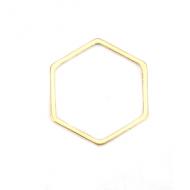 Tussenstuk Rvs Hexagon