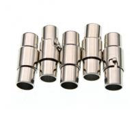 Sluiting 3mm Rodium magneet