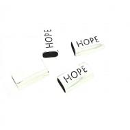 Schuifkraal 10x6mm Hope