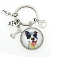 Sleutelhanger Stafford Hond #2