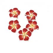 Fimo Kraal Hawaii 22mm Rood