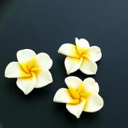 Fimo Kraal Hawaii 50mm Wit