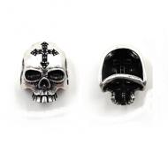 Kraal Skull Doodshoofd Kruis