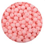 Siliconen Kraal 15mm Roze