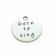 Bedel Rvs Born to Sing