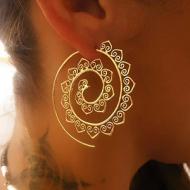Oorbellen-Spiraal-goud/zilver-5