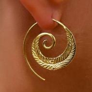 Oorbellen-Spiraal-goud/zilver-3