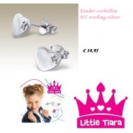 Little Tiara  oorbellen