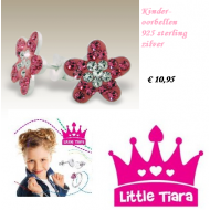 Oorbellen kind- Little Tiara- Bloem  #2