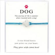 Kado Kaart Armband Hond