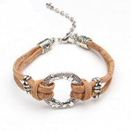 Armband-Kurk-Naturel
