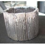 Metalen Armband Stretch 6cm hoog