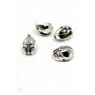 Kraal - Helm - zilverkleur