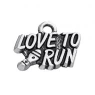 Bedel Love to Run 17x13mm