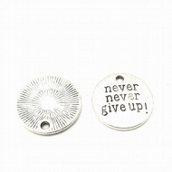 Bedel Never give up 20mm