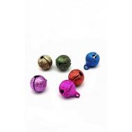 Belletje -  gekleurd  8 mm