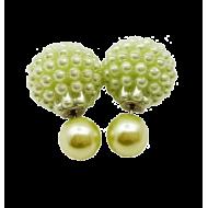 Dots oorbellen - Mintgroen