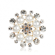 Broche-Rond-Parels-strass
