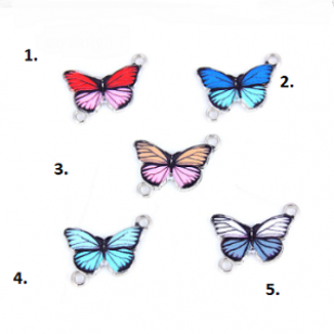 Tussenstuk Vlinder Emaille