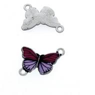 Tussenstuk Vlinder Emaille #6
