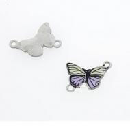 Tussenstuk Vlinder Emaille #7