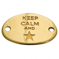 Connector goud - Keep Calm and