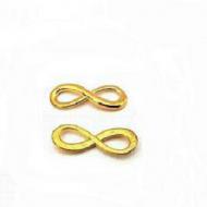 Infinity goudkleurig - connector