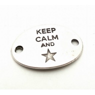 Tussenstuk Keep Calm 30x20mm