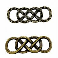 Tussenstuk-Tribal-Knoop-Brons