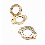 Steel Connector Memory Locket